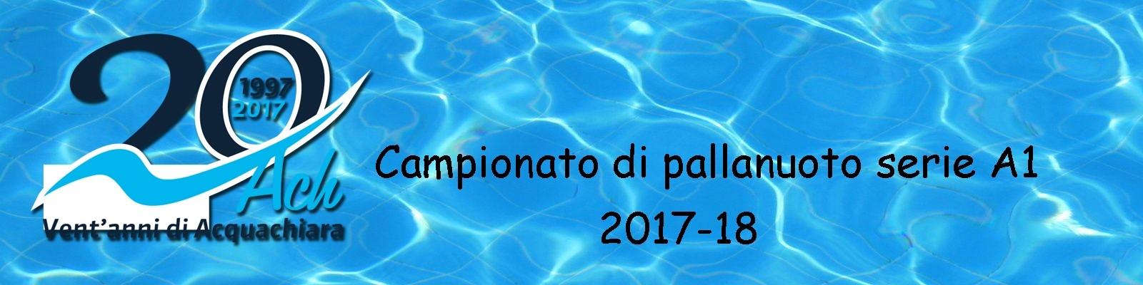 Acquachiara anno 2017-18