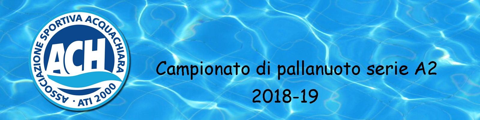 Acquachiara anno 2018-19