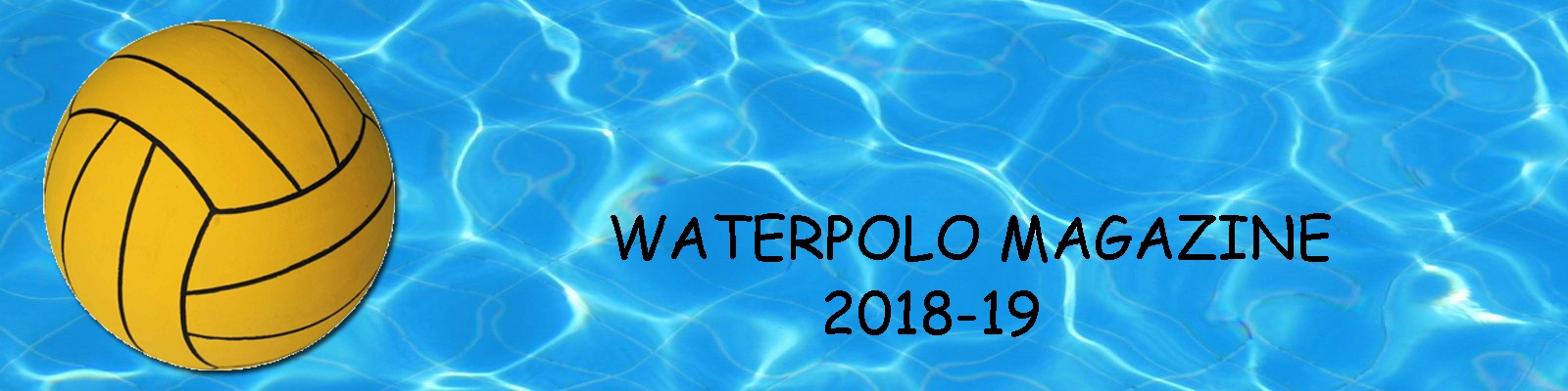 Water Polo Magazine anno 2018-19