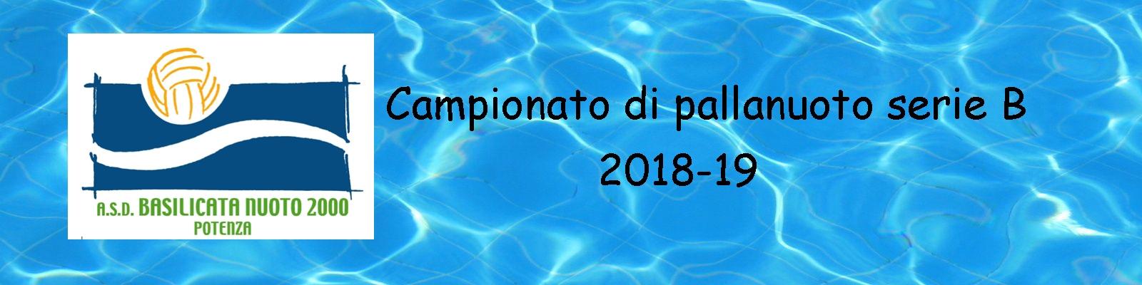Basilicata Nuoto 2000 anno 2019