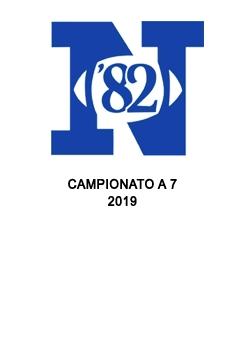 82ers campionato a 7 2019