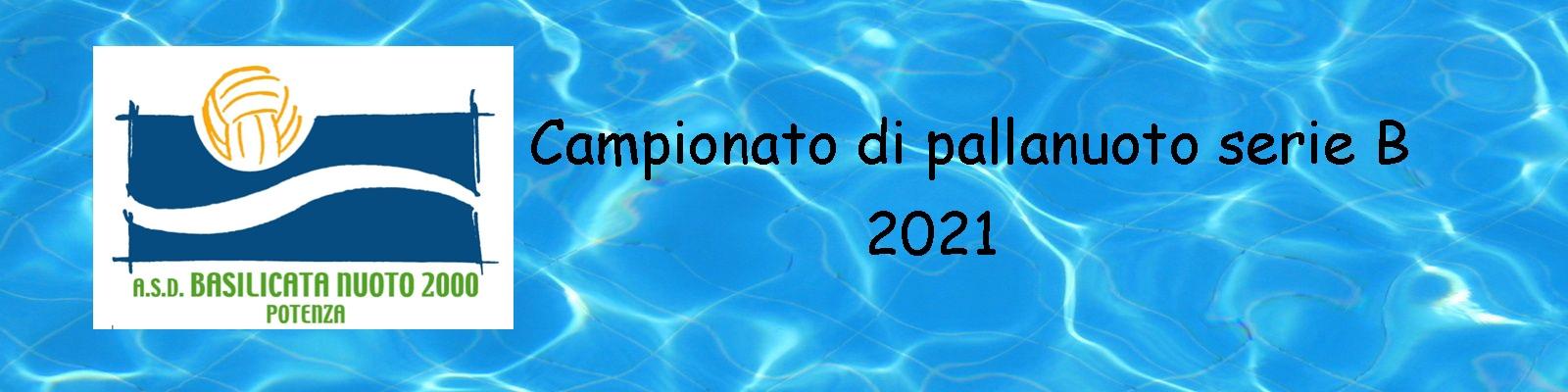 Basilicata Nuoto 2000 anno 2021